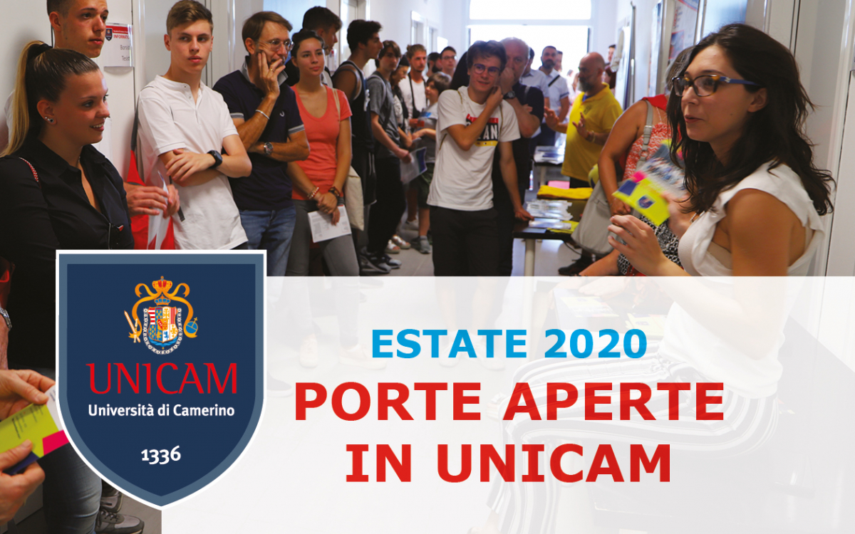 Porte Aperte in UNICAM estate
